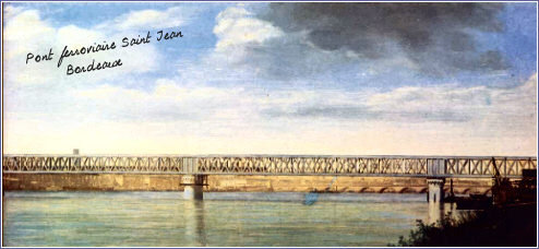 Gustave eiffel - Pont ferroviaire de bordeaux ...